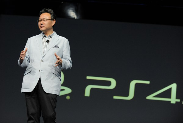 Sony Showing PS4
