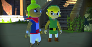 Tetra and Link from Wind Waker HD